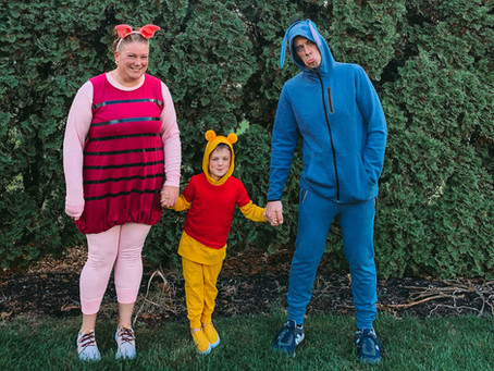Happy Halloween from the Hundred Acre Wood!