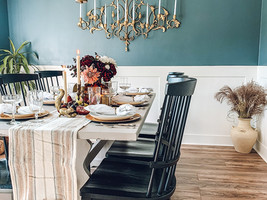 Easy and Elegant Fall Table Scape