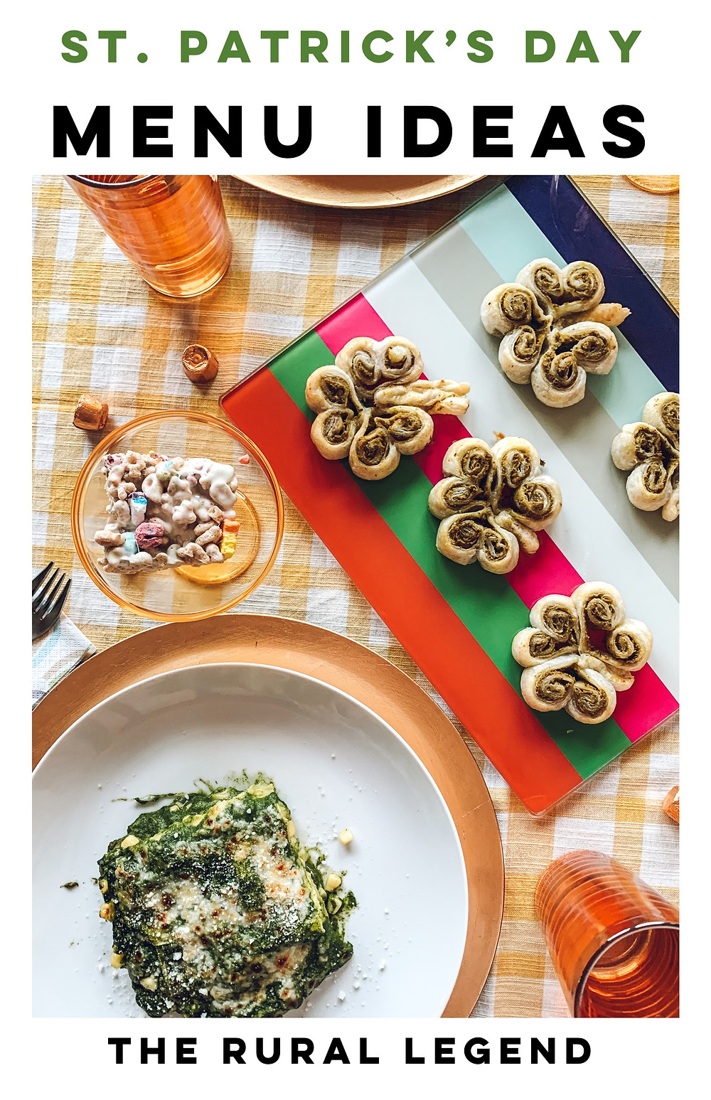 St Patrick's Day recipe, St Patrick's Day menu, St Patrick's Day party ideas, St Patrick's Day food, green food, healthy family friendly recipes, kid friendly recipes, easy weeknight recipes, freezer meals, broccoli pesto, lasagna recipe, easy no bake desserts, spring party, spring table scape, spring décor, st patrick's day décor, st patrick's day table scape, st patrick's day table decorations, healthy recipes ideas, party décor ideas, green party ideas, green party food, easy party recipes, healthy comfort food recipes