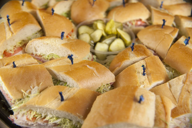 Wow your party with our catering menu!