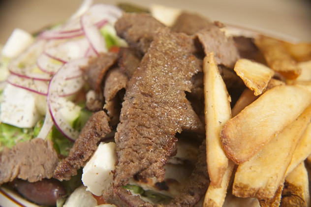 A Gyro from our Greek menu!