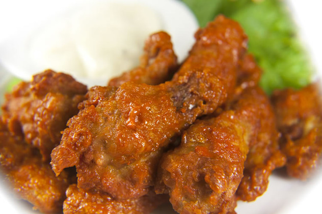 Order some Chicken Wings for football Sunday!