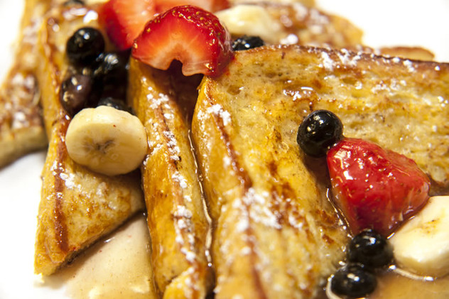 Carb out with our delicious, homemade French Toast!