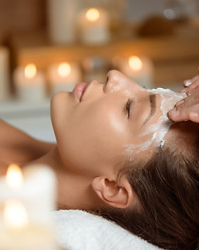 young-woman-in-mask-for-face-relaxing-in