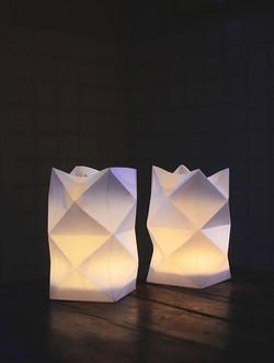 Lampe Origami deco