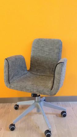 création revêtement chaises