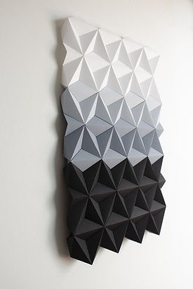 Tableau Origami modulaire