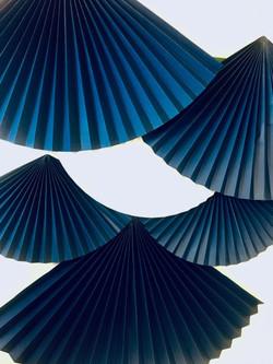 Maison Nô hotel lyon - Éventails origami