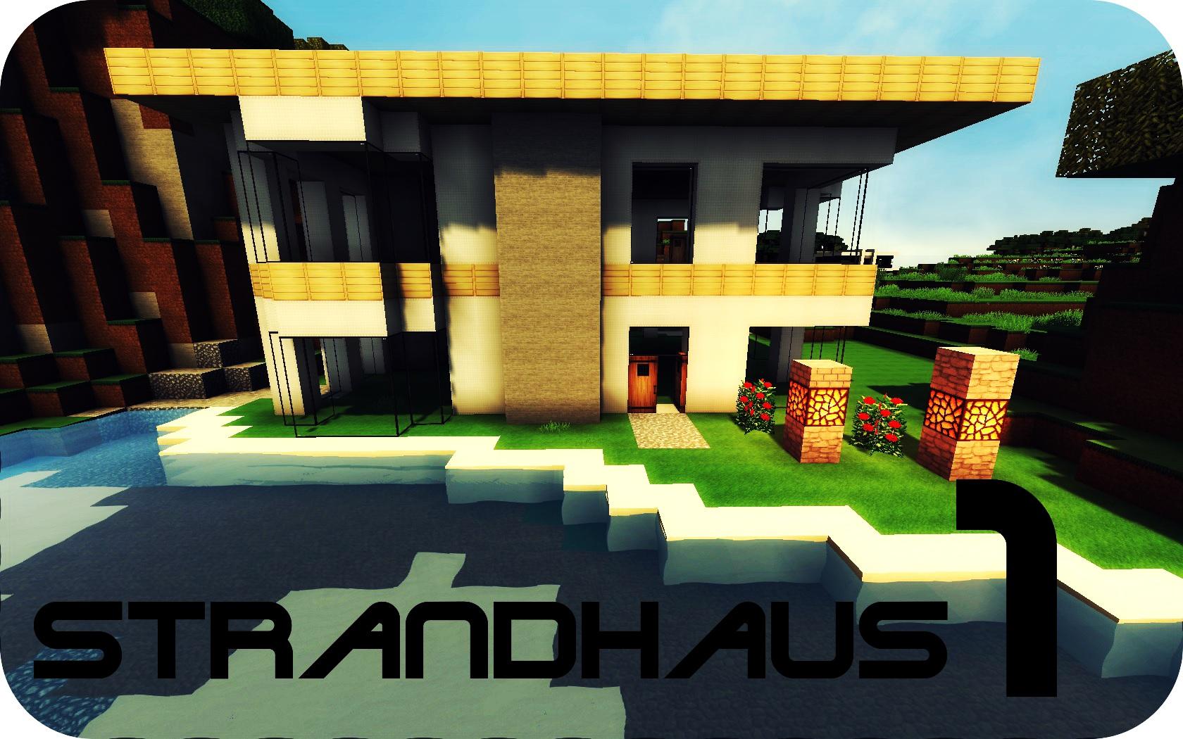 minecraft strandhaus