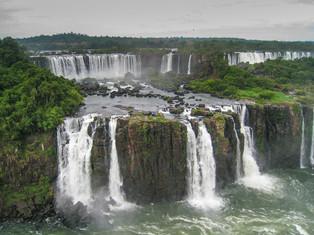 Iguasu Falls, Brazil-Argentina Border