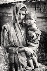 Mother and Child, Rajasthan India