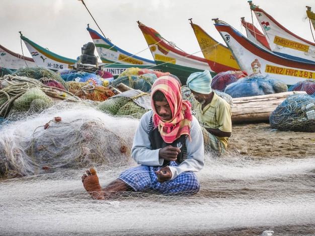 Chennai Fisherman, India