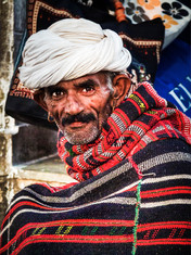 Villager in Rajasthan, India