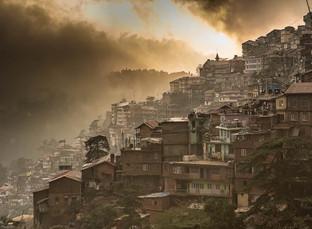 Sunrise in Shimla, India
