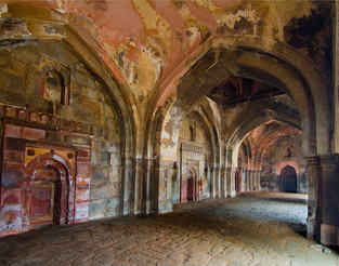 Arches in Jumma Masjid, NewDelhi, India