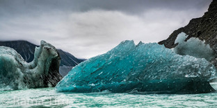Floating Glacier, New Zealand