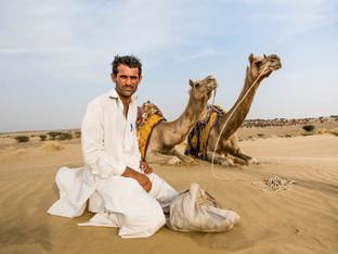 Man and his rides -India