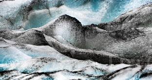 Glacier Abstract