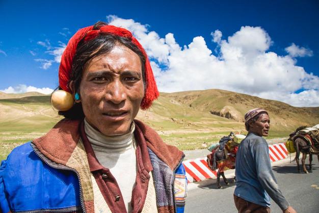 Man from Shigatse,Tibet