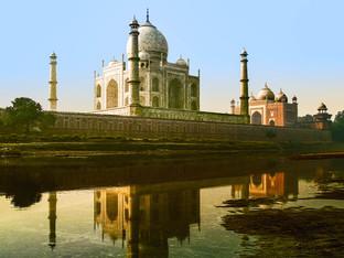 Taja Mahal at sunrise, India