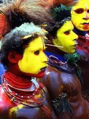 Huli Dancers of Papua New Guinea