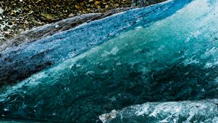 Glacier Closeup, New Zealand