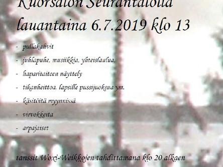 Kesäjuhla 6.7.2019