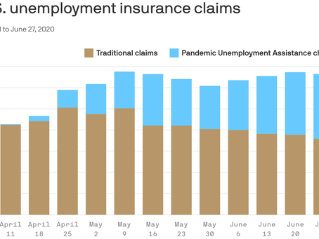 Pandemic unemployment assistance claims rise, traditional jobless claims fall