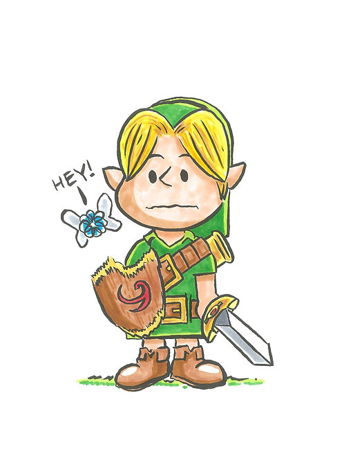 Link in Charlie Brown's World