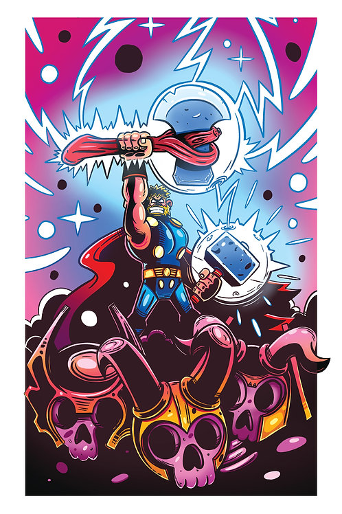"11x17"" Thor"