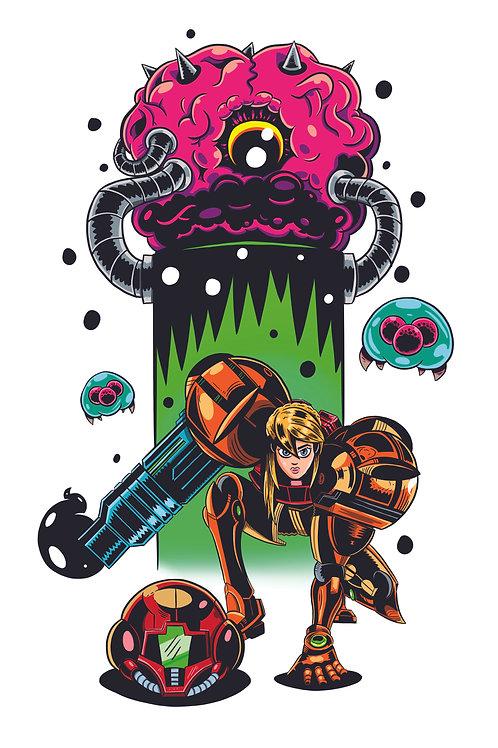 "11x17"" Metroid"