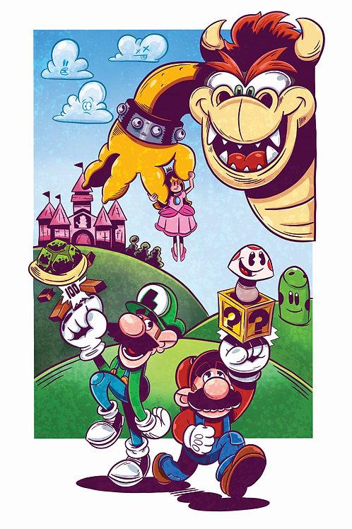 """11x17"""" Super Mario"""