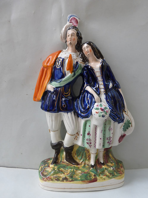 19THC STAFFORDSHIRE THEATRICAL GROUP