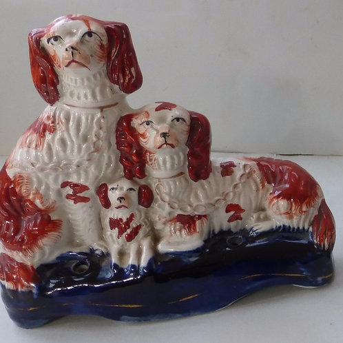 19THC. STAFFORDSHIRE DOG # 3234