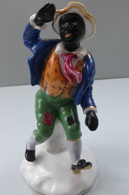 RARE 19THC. STAFFORDSHIRE OF T.D.RICE AS JIM CROW