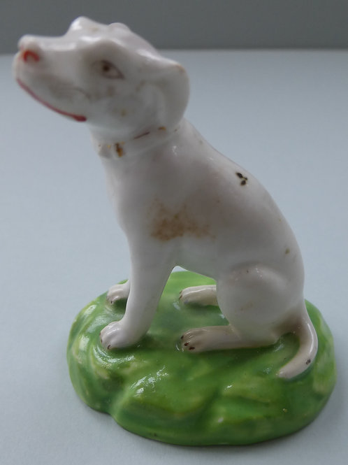 19THC. STAFFORDSHIRE DOG BY DERBY # 3451