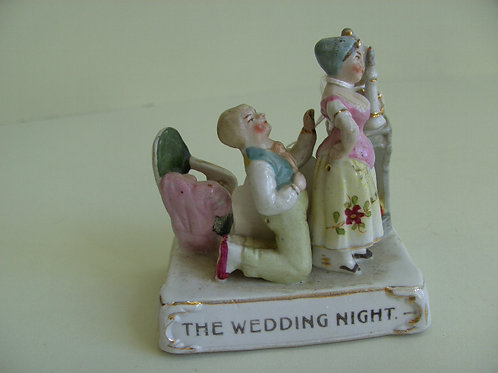 19thc. Continental Fairing titled THE WEDDING NIGHT