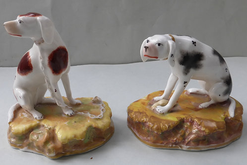 19THC. STAFFORDSHIRE DOG # 3496
