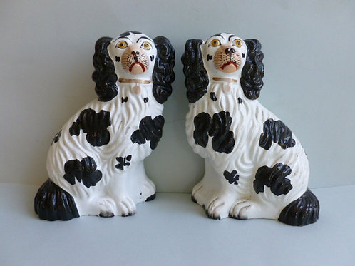 19TH C STAFFORDSHIRE DOGS # 2345