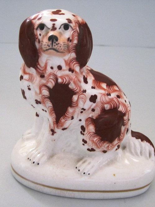 19THC. STAFFORDSHIRE DOG # 131
