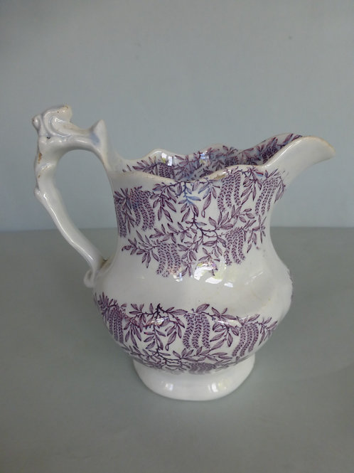 19THC. STAFFORDSHIRE JUG POSSIBLY WELSH C.1840