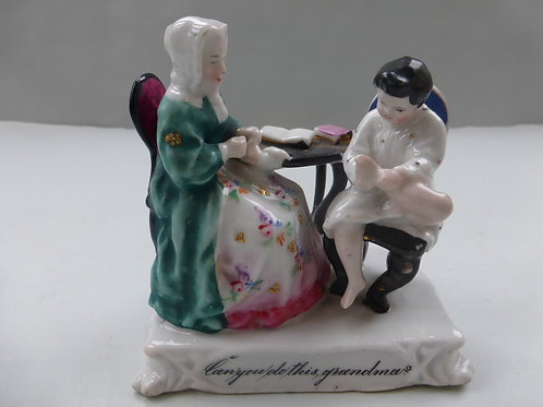 19THC. FAIRING Titled CAN YOU DO THIS GRANDMA - GROUP D