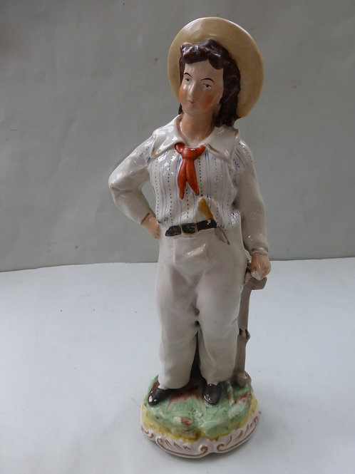 19thc. Staffordshire Figure Prince Alfred Ref. 3730