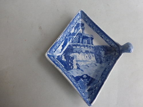Early 19thc. Rogers Blue/White Pickle Dish c.1820 Ref # 4611