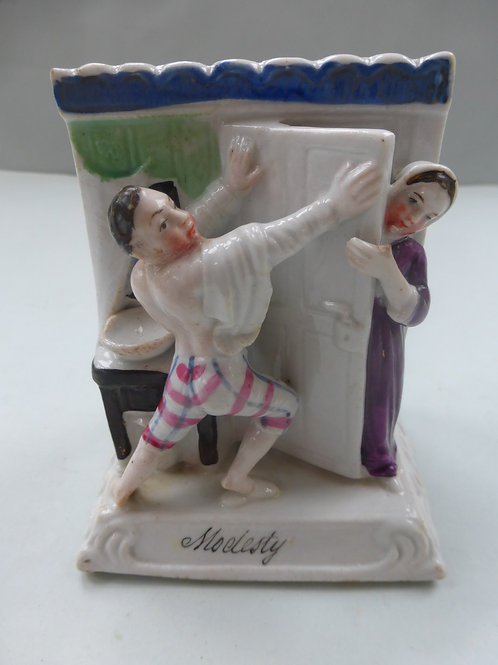 19thc. Continental Fairing titled MODESTY -GROUP 'D' Ref # 96