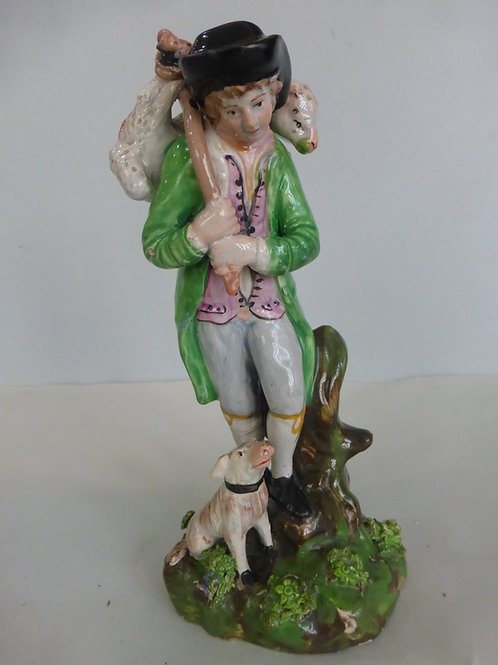 Late 18thc. Staffordshire Pearlware Group 'Lost Sheep' Ref # 4255