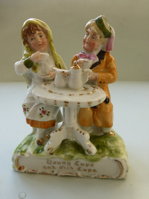 LATE 19THC. FAIRING YOUNG CUPS & OLD CUPS c.1900