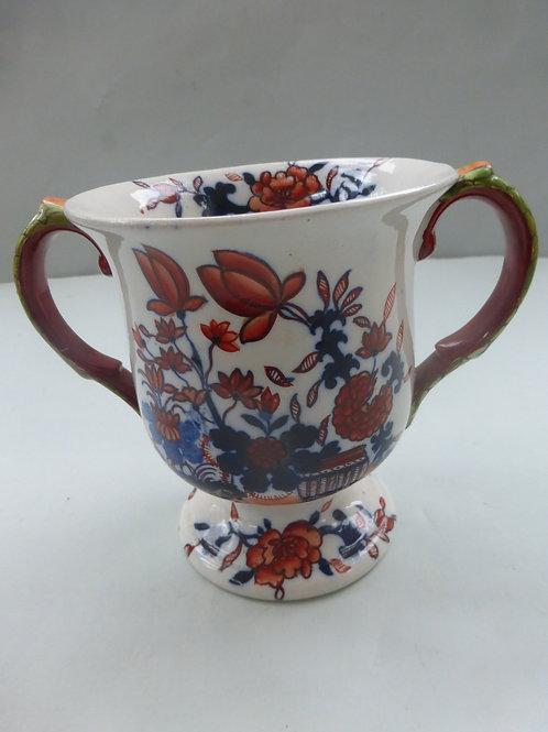 MASONS IRONSTONE IMARI PATTERN LOVING CUP C.1890