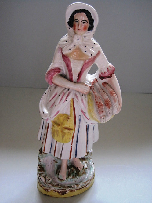 19THC STAFFORDSHIRE FIGURE BY THOMAS PARR