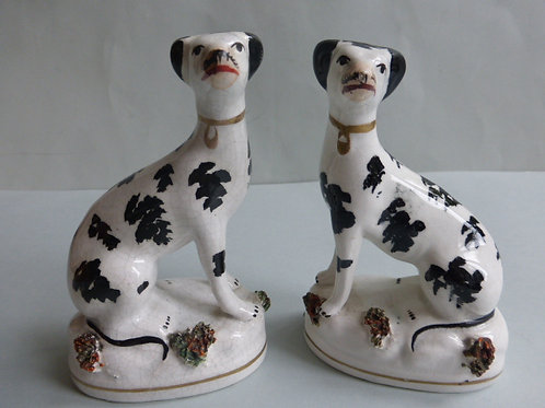 19THC. STAFFORDSHIRE DOG # 3031